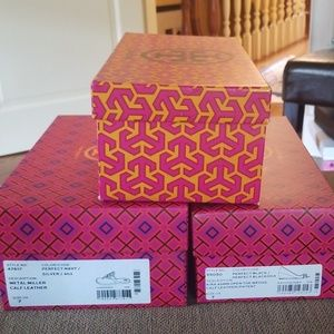 Tory Burch boxes